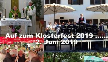 Teaserbild für den Artikel Einaldung zum Klosterfest