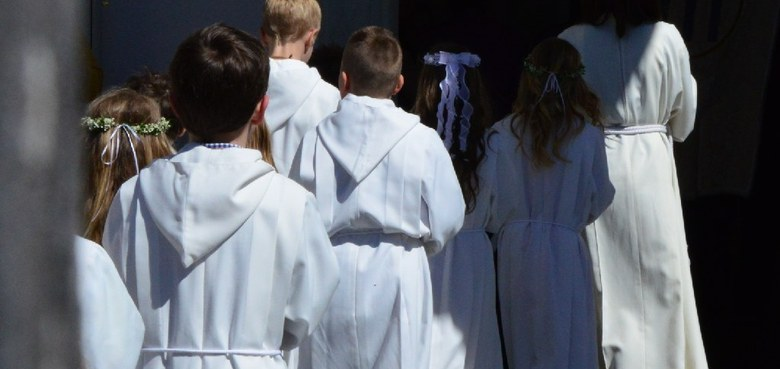 Erstkommunion am 5. Mai
