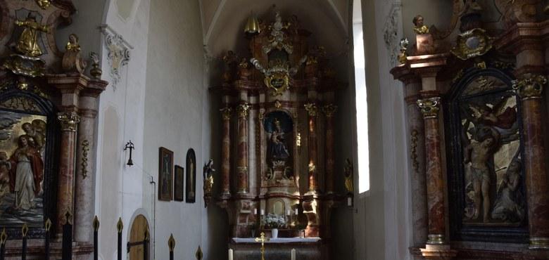 Kirchenführung - Der kleine Wallfahrtsort in Bregenz am Siechensteig