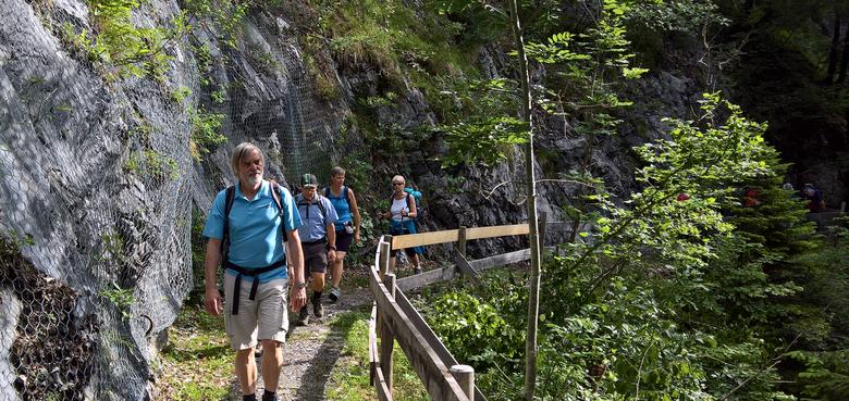 """""""Spirituelle Wanderung auf dem Jakobsweg"""": von Braz nach Ludesch"""