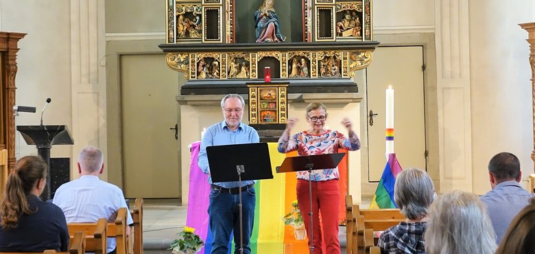Regenbogenpastoral in der Seekapelle 2018