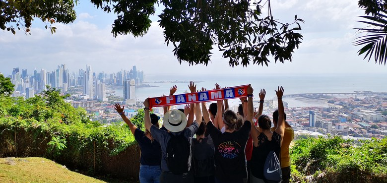 Bienvenidos - Willkommen in Panama