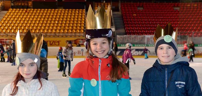Spaß auf dem Eis