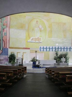 Pfarrkirche Dornbirn Schoren (erbaut 1965)
