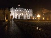 Petersplatz am Abend