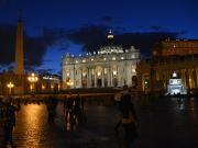Abend am Petersplatz