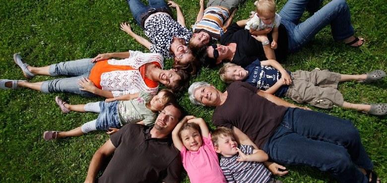 Familie. Schutz des Lebens.