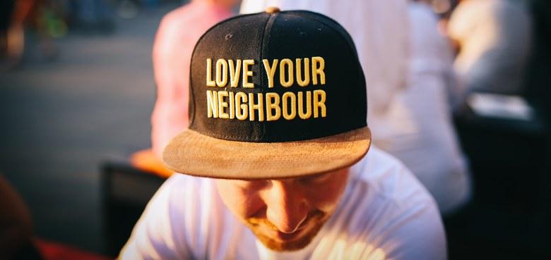Auf gute Nachbarschaft!
