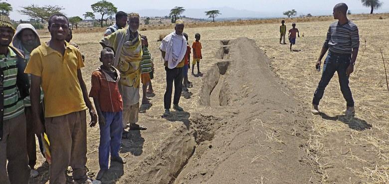 Die Fluchtursachen in Afrika bekämpft