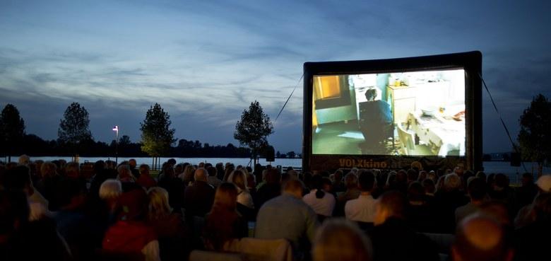 Kino mit Seeblick
