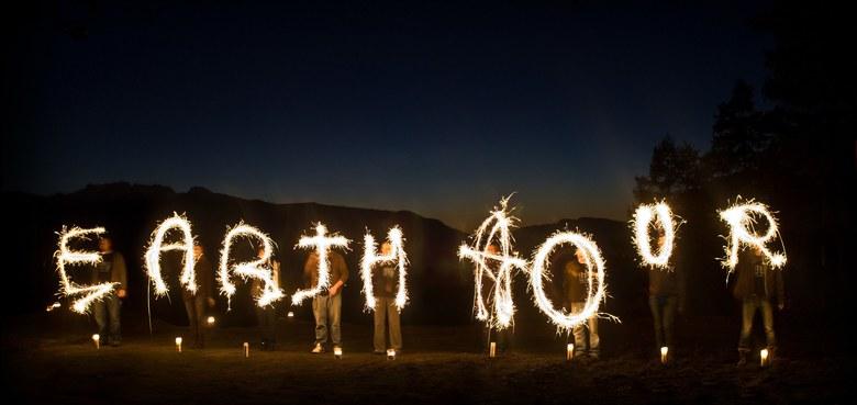 Für den Klimawandelwandel: Earth Hour am Samstag