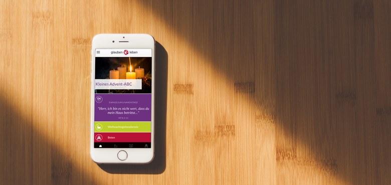Glauben.Leben – mit neuer App