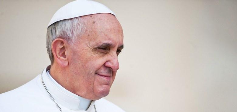Papst betet um Frieden und für Kinder in Not