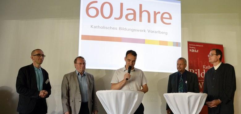 60 Jahre Katholisches Bildungswerk Vorarlberg