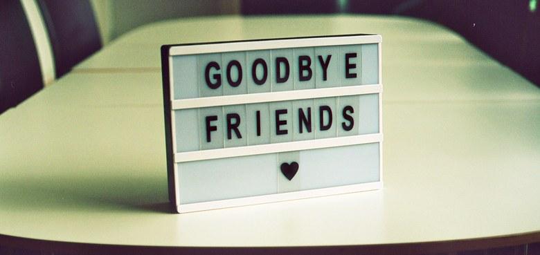 Abschied auf Zeit