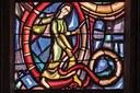 """Die Figur im dritten Kreis zitiert das Buch Genesis: """"Feindschaft setze ich zwischen dich und die Frau, zwischen deinen Nachwuchs und ihren Nachwuchs. Er trifft dich am Kopf und du triffst ihn an der Ferse."""" Wer ist diese rätselhafte Frau? Eva? Oder Maria?"""