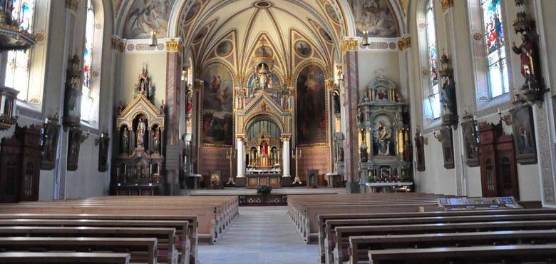 Erhebung der Pfarrkirche Schruns zum Münster
